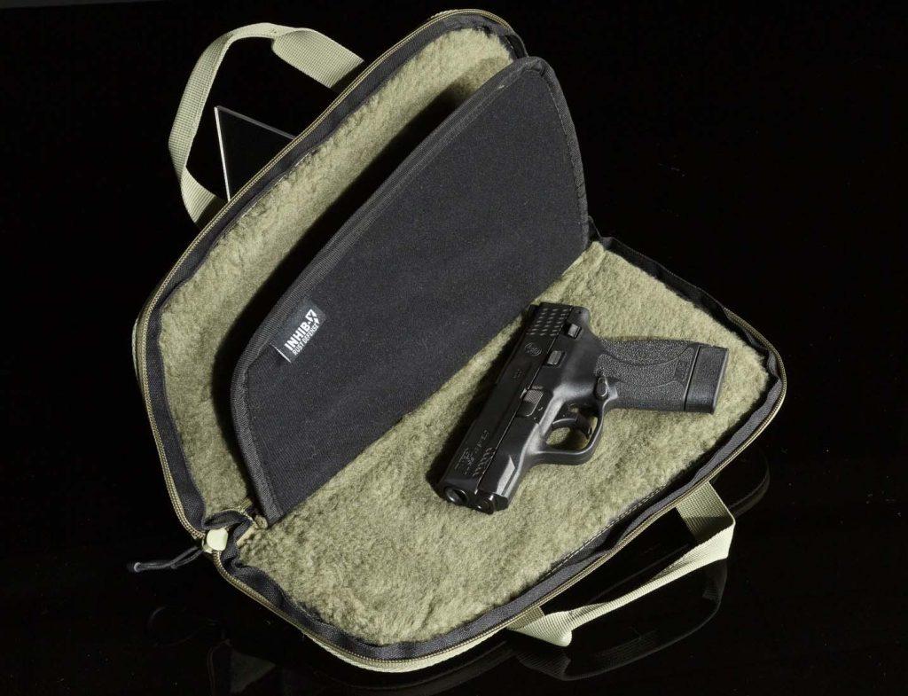 VITAL™ 14″ Double Pistol Rug Interior with Handgun